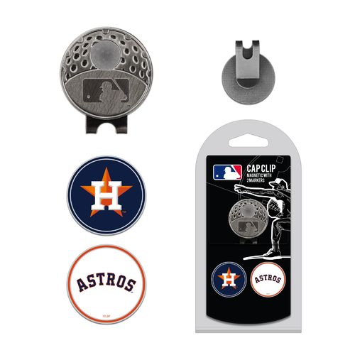 Team Golf Houston Astros Marker Cap Clip