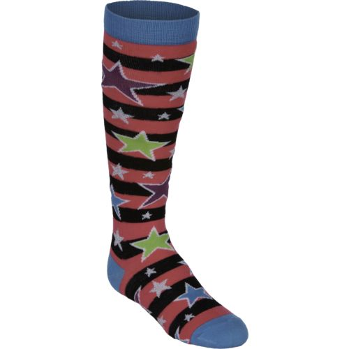 BCG™ Girls' Stars and Sunglasses Knee-High Socks 2-Pack
