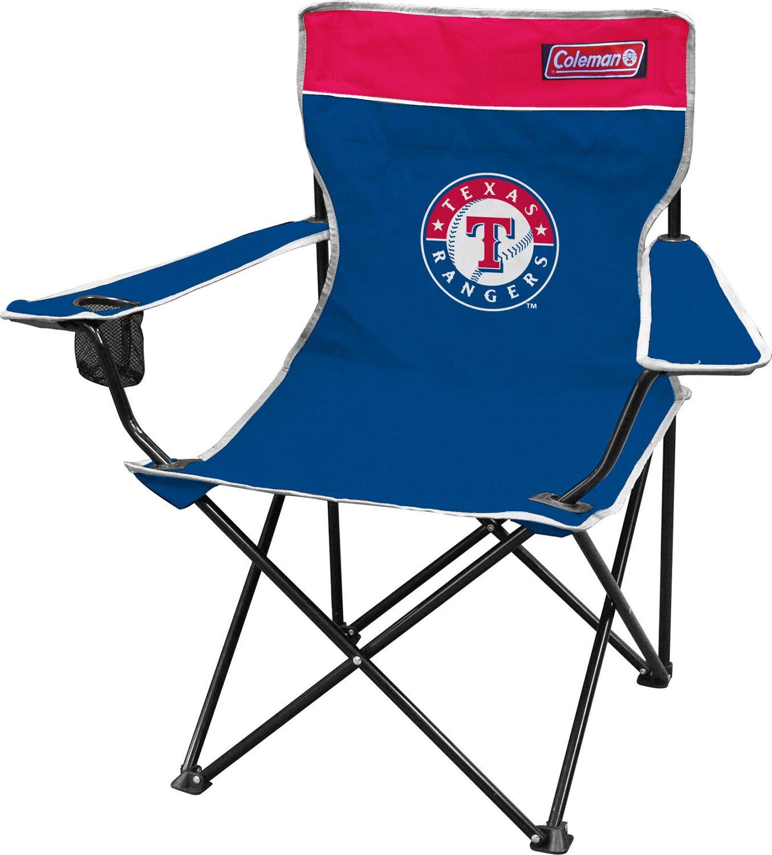 Coleman® Texas Rangers Quad Chair