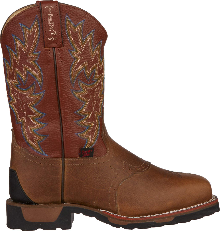 Tony Lama Men's Antique Montana TLX® Steel-Toe Western