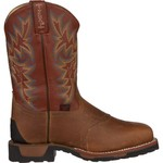 Tony Lama Men's Antique Montana TLX® Steel-Toe Western Work Boots