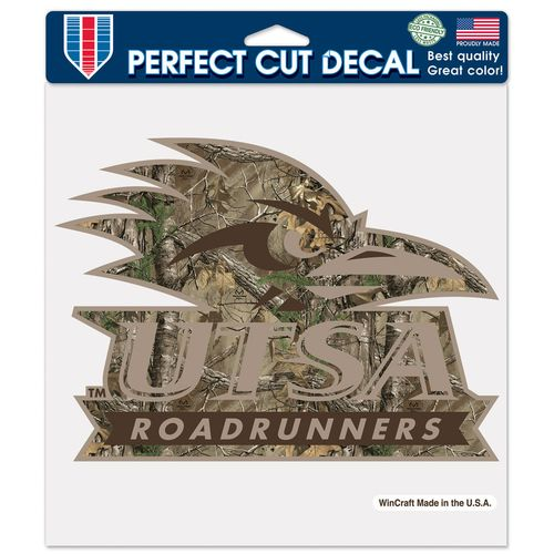 "WinCraft University of Texas at San Antonio 8"" x 8"" Realtree Perfect Cut Color Decal"