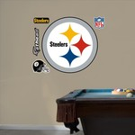 Fathead Pittsburgh Steelers Real Big Team Logo Decal