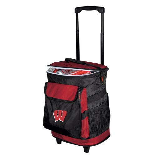 Logo™ University of Wisconsin 48-Can Rolling Cooler - view number 1