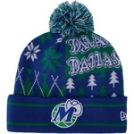New Era Men's Dallas Mavericks Boxed Link Knit Cap