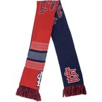 Team Beans Adults' St. Louis Cardinals Reversible Split Logo Scarf