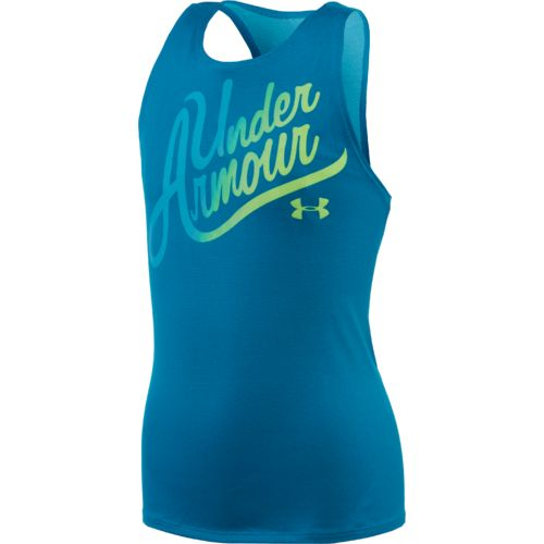 Under Armour™ Girls' Aloha Wordmark Tank Top