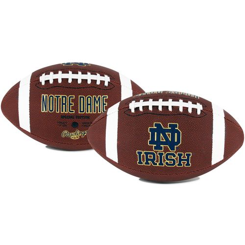 Rawlings University of Notre Dame Game Time Full-Size Football