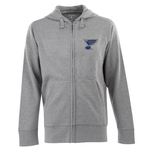 Antigua Men's St. Louis Blues Signature Full Zip Hoodie