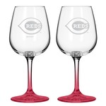 Boelter Brands Cincinnati Reds 12 oz. Wine Glasses 2-Pack