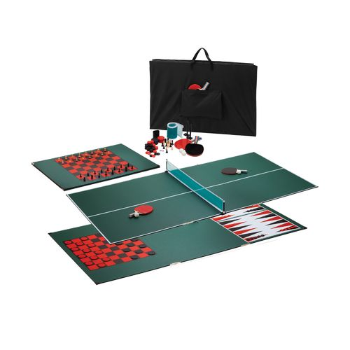 GLD Portable 3-in-1 Multigame Table Tennis Top