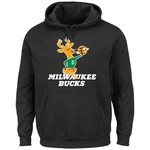 Majestic Men's Milwaukee Bucks Hardwood Classics Tek Patch™ Hoodie