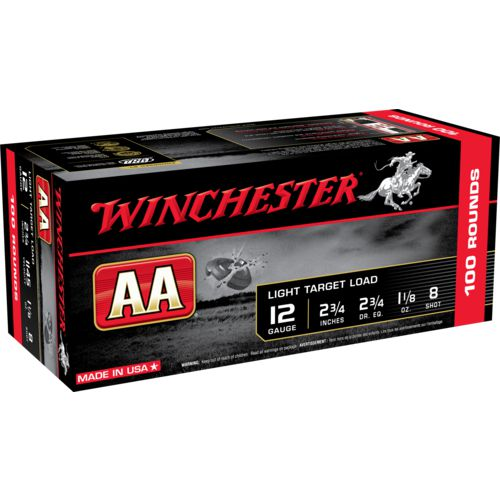 Winchester AA Light Target Loads 12 Gauge Shotshells