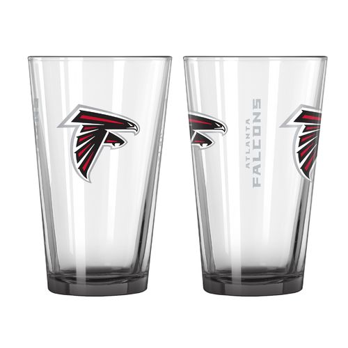 Boelter Brands Atlanta Falcons Elite 16 oz. Pint Glasses 2-Pack