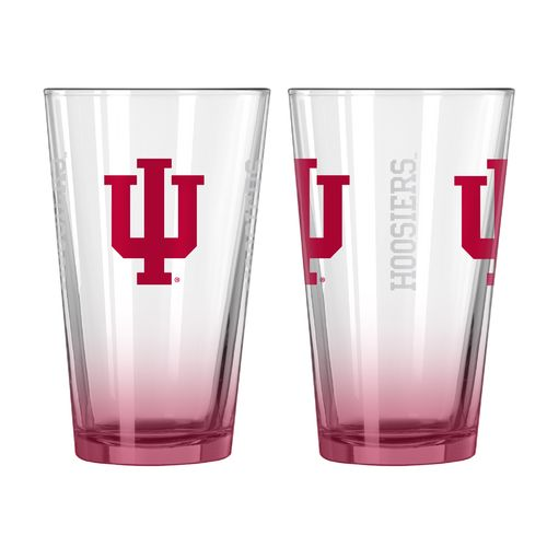 Boelter Brands Indiana University Elite 16 oz. Pint Glasses 2-Pack