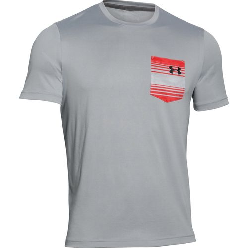 Under armour men 39 s flow t shirt academy for Under armour men s shirts clearance