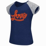 Colosseum Athletics Girls' Auburn University All About That Lace T-shirt