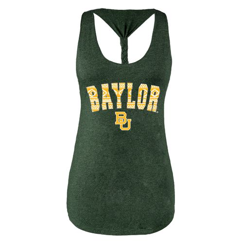 Chicka-d Women's Baylor University Braided Tank Top