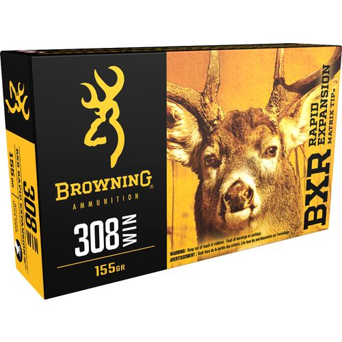 Browning Deer Hunting .308 Winchester 155-Grain Rifle Ammunition - view number 1