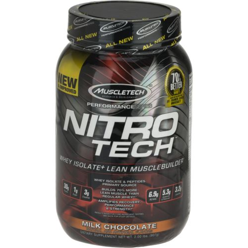 MuscleTech Performance Series Nitro-Tech® Protein Powder