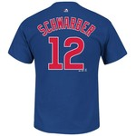 Majestic Men's Chicago Cubs Kyle Schwarber #12 T-shirt