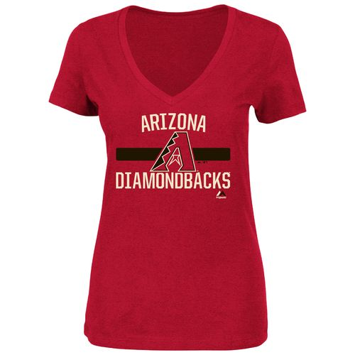 Majestic Women's Arizona Diamondbacks One Game At A Time T-shirt