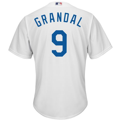 Majestic Men's Los Angeles Dodgers Yasmani Grandal #9 Cool Base Replica Jersey