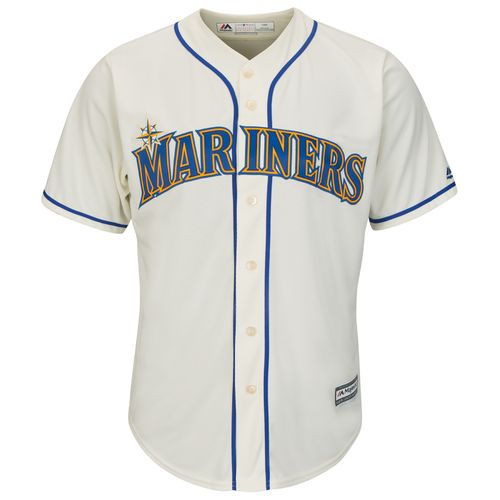 Majestic Men's Seattle Mariners Cool Base Replica Jersey