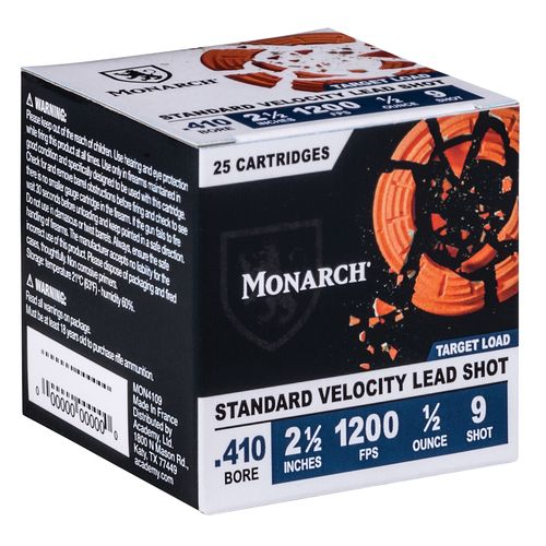 Display product reviews for Monarch® Target Loads .410 Bore Shotshells
