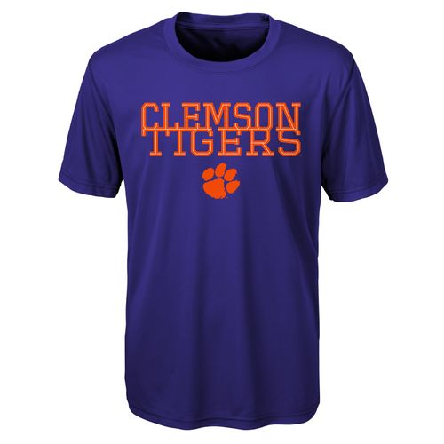 Gen2 Toddlers' Clemson University Overlap Poly T-shirt