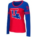 Colosseum Athletics™ Women's Louisiana Tech University Hornet Football Long Sleeve T-shirt