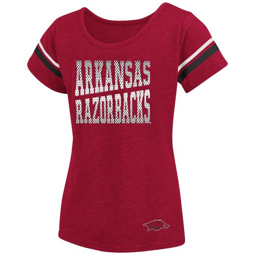 Colosseum Athletics™ Girls' University of Arkansas Fading Dot