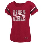 Colosseum Athletics™ Girls' University of Arkansas Fading Dot T-shirt