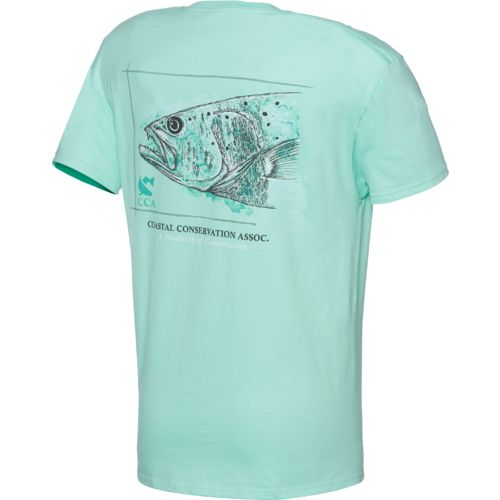 CCA™ Men's Trout Watermark T-shirt