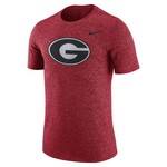Nike Men's University of Georgia Marled Logo T-shirt