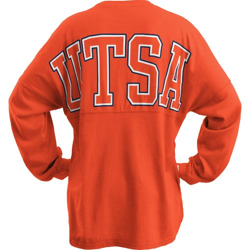Three Squared Juniors' University of Texas at San Antonio Big Time Outline Sweeper T-shirt