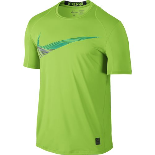 Nike Men's Cool Swoosh Flow Fitted Short Sleeve