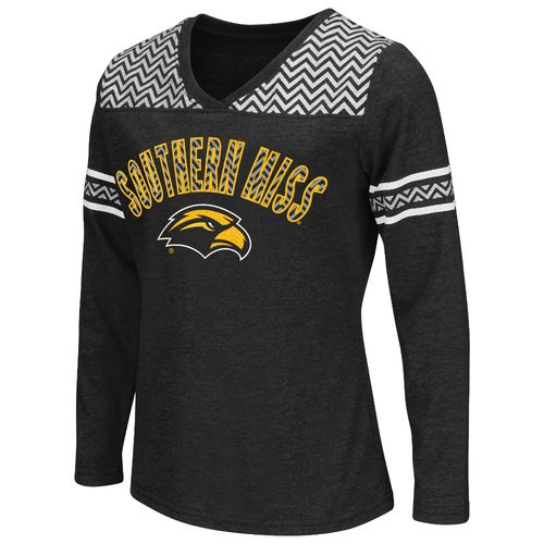 Colosseum Athletics™ Girls' University of Southern Mississippi Cupie Long Sleeve T-shirt