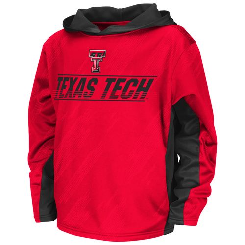 Colosseum Athletics™ Juniors' Texas Tech University Sleet Pullover Hoodie