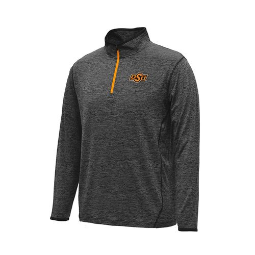 Colosseum Athletics™ Men's Oklahoma State University Action Pass 1/4 Zip Pullover