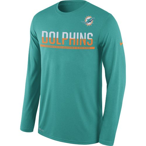 Nike Men's Miami Dolphins Team Practice Legend T-shirt