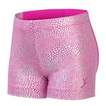 Capezio® Girls' Future Star Mosaic Foil Front Glitter Short