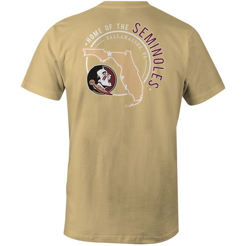 Image One Men's Florida State University Home State Comfort Color T-shirt