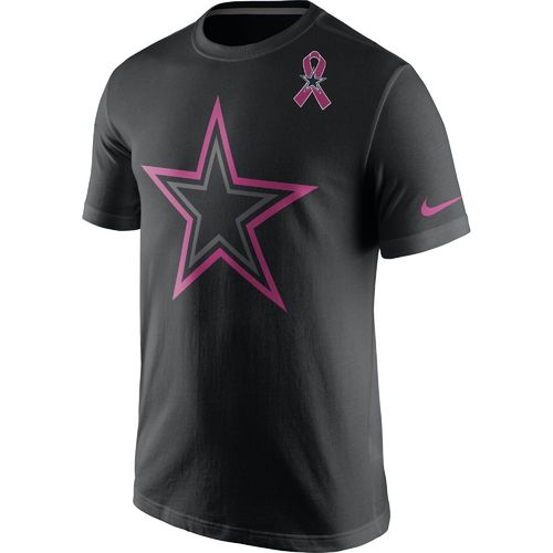 Nike Men's Dallas Cowboys 2016 Breast Cancer Awareness Travel T-shirt