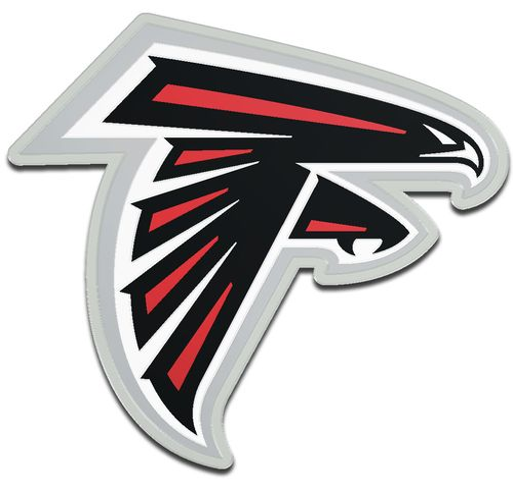 Stockdale Atlanta Falcons Acrylic Auto Emblem