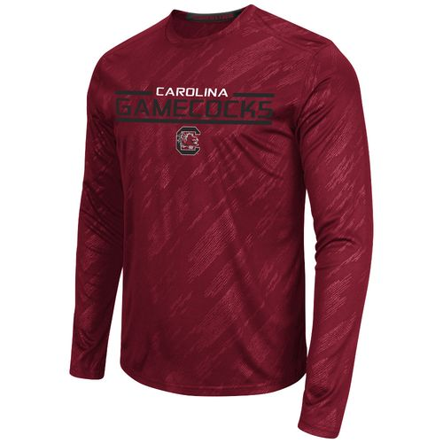 Colosseum Athletics™ Men's University of South Carolina Sleet Embossed Long Sleeve T-shirt