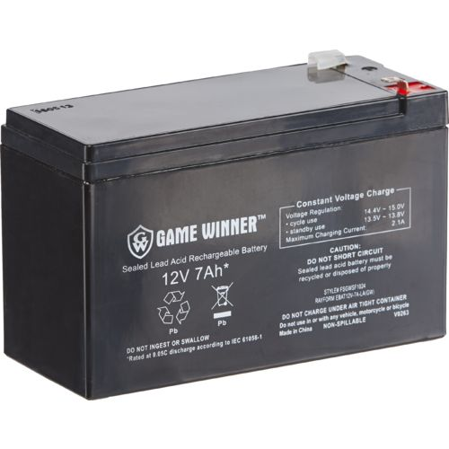 Display product reviews for Game Winner®  12V 7 Ah Feeder Battery