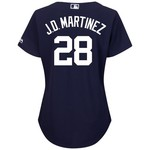 Majestic Women's Detroit Tigers J.D. Martinez #28 Authentic Cool Base Fashion Home Jersey