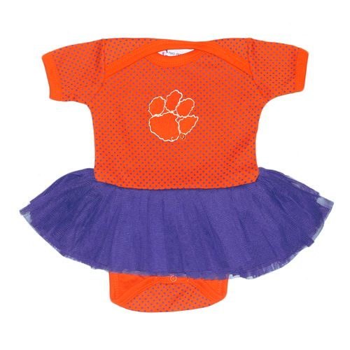 Two Feet Ahead Infant Girls' Clemson University Pin