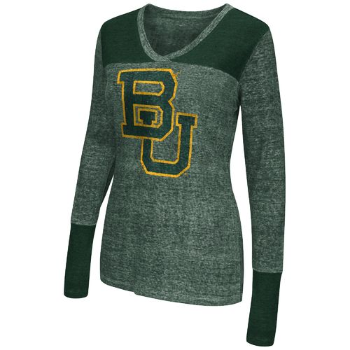 Touch by Alyssa Milano Women's Baylor University Goal Line Top